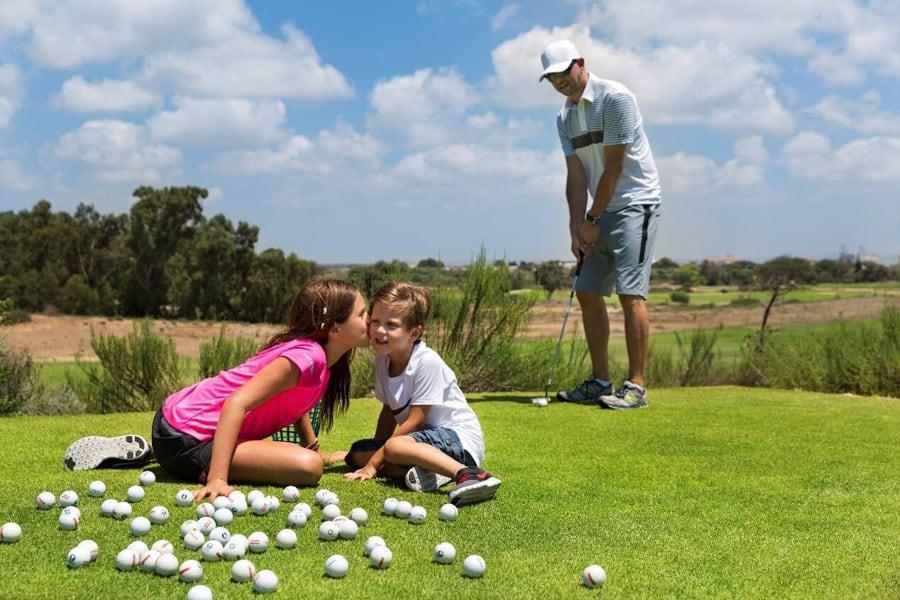 מועדון גולף קיסריה - חוויה מדהימה לכל המשפחה
