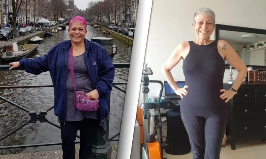 כלנית בחרה בתכנית התזונה של DayTwo שתי תמונות של לפני ואחרי