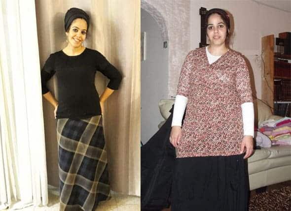 אישה צעירה עשתה דיאטת דש של לפני ואחרי והתוצאות לא איחרו לבוא