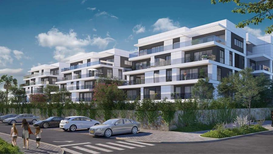 בניינים בפרויקט דירות בוטיק קיסריה