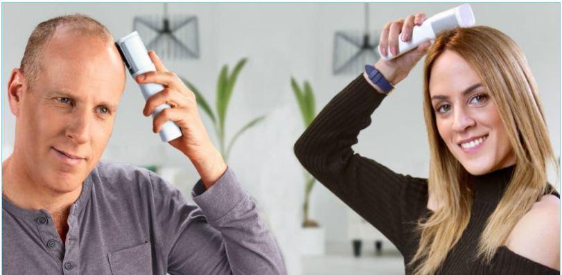 טיפול במכשיר שמחזיר את השיער לראש