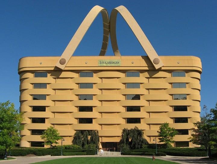 The Longaberger Basket Building- הבניין בצורת סל קניות